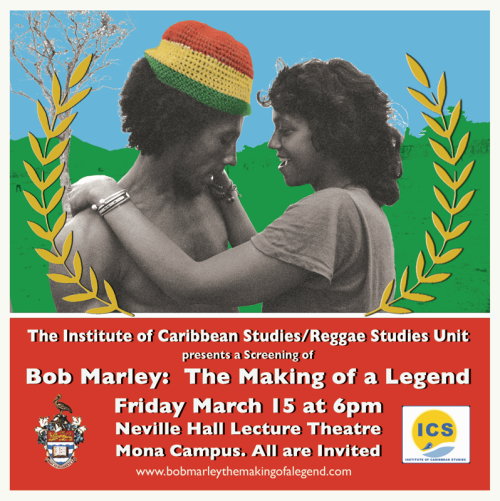 Bob Marley film. Flyer 4b